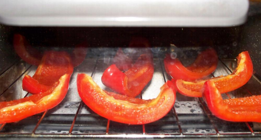 red-peppers-roasting